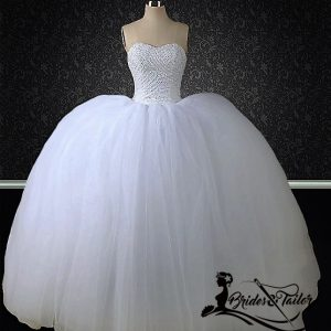 customized ball gown