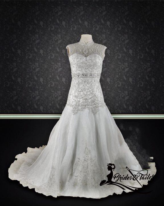 Lace Wedding Dress Custom Made
