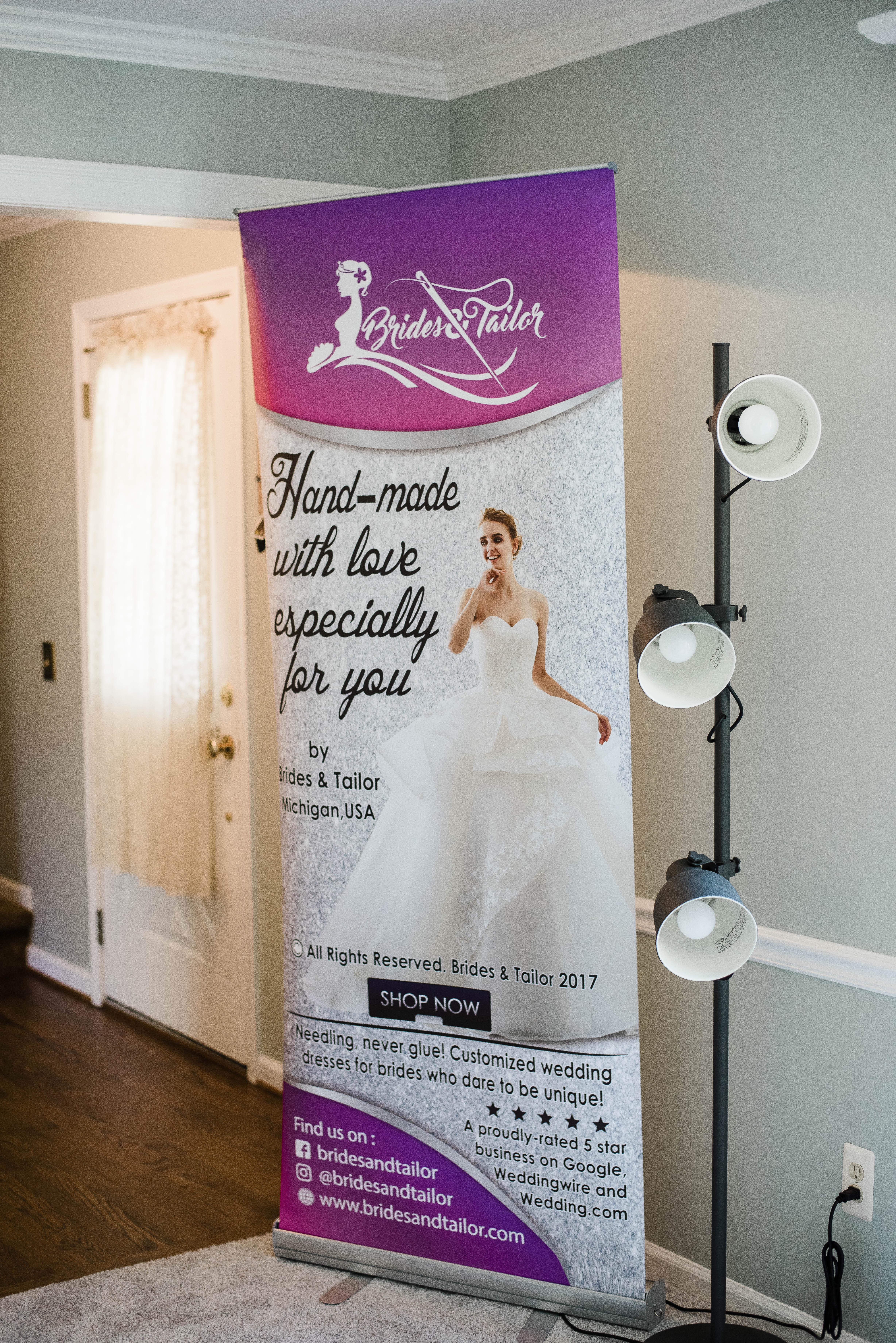Brides & Tailor's Michigan photoshoot