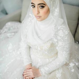 Hijab Wedding Dress