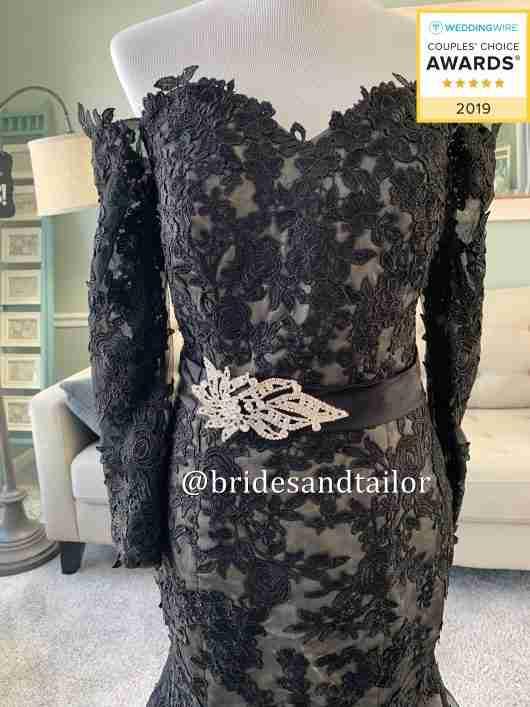 Black Wedding Dress / Brides & Tailor