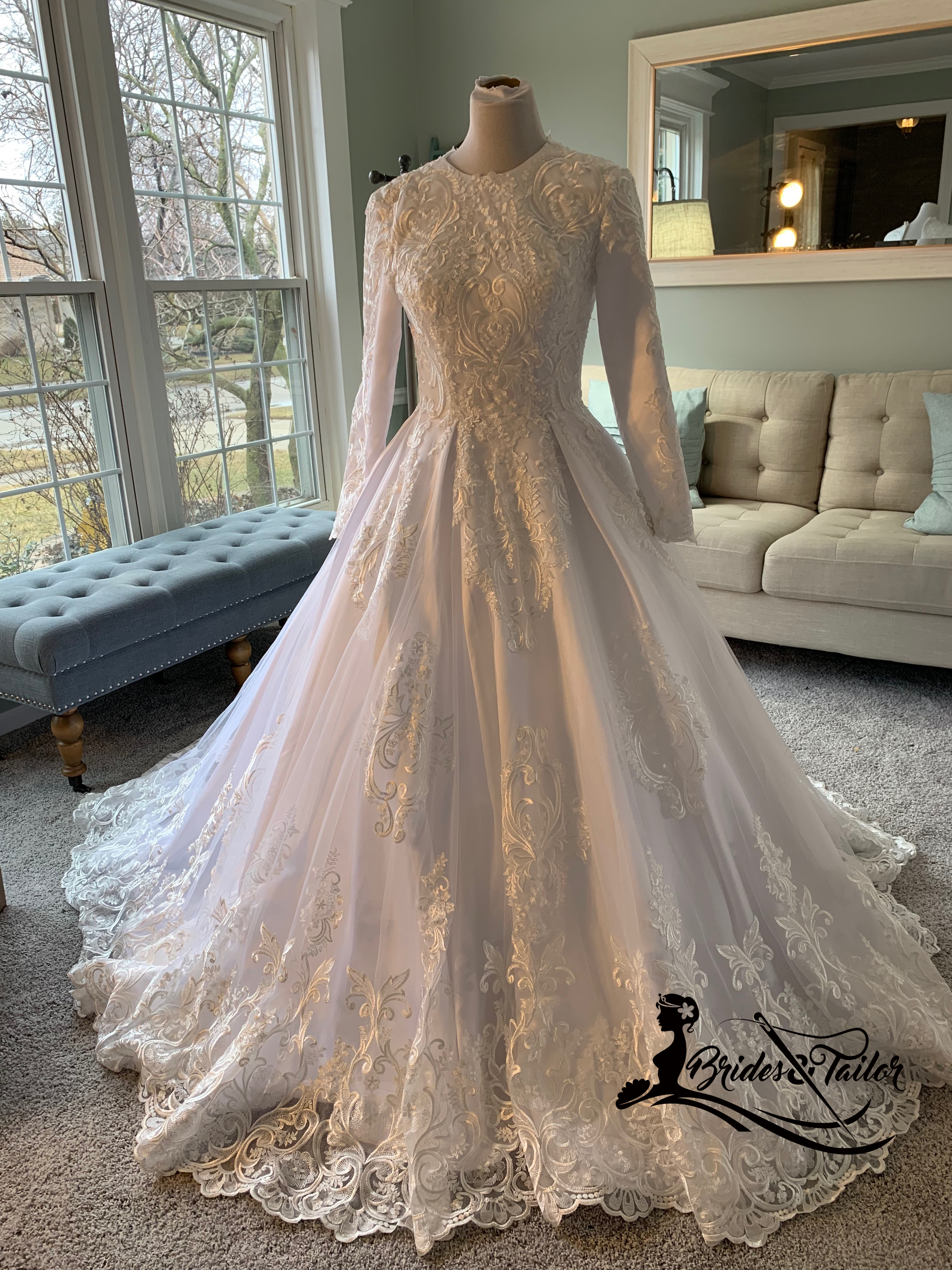 Hijab Wedding Dress By Brides Tailor Custom Made Wedding Dresses