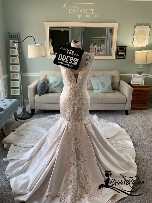 Mermaid Wedding Dress By Brides & Tailor