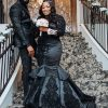 Black Wedding Dress by Brides & Tailor