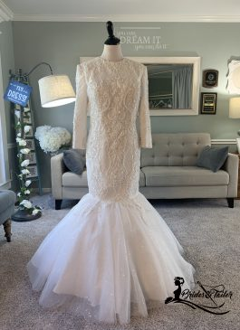 Modest Wedding Dress by Brides & Tailor