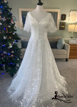 Beach Wedding Dress by Brides & Tailor