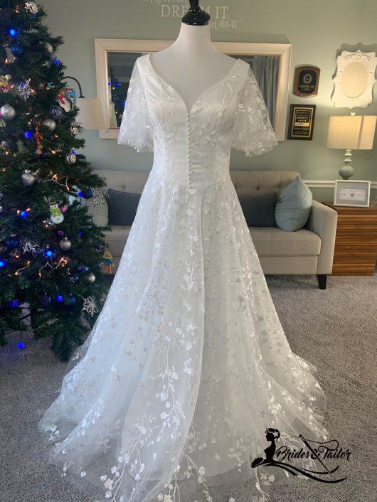 Beach Wedding Dress by Brides & Tailor