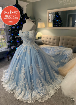 Disney Wedding Dress by Brides & Tailor