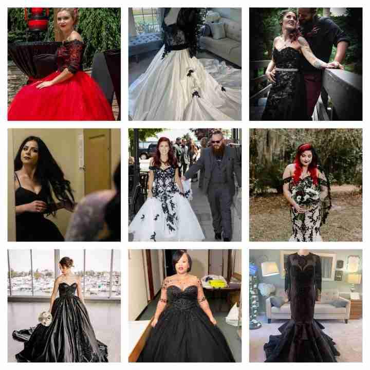 Gothic Wedding Dress Archives Brides Tailor
