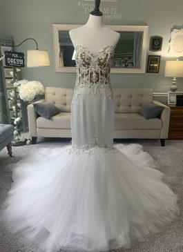 custom mermaid wedding dress