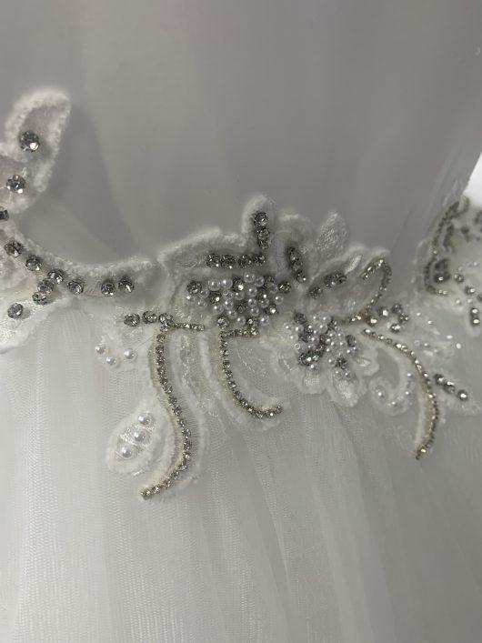 custom mermaid wedding dress