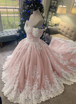 disney wedding dress by brides & tailor
