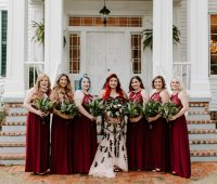Gothic Wedding Dress by Brides & Tailor