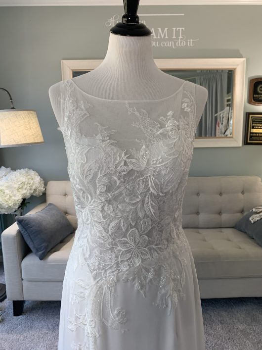 Custom ALine Wedding Dress