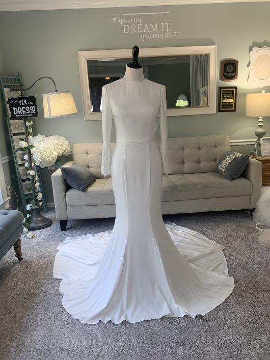 Modest ALine Wedding Dress