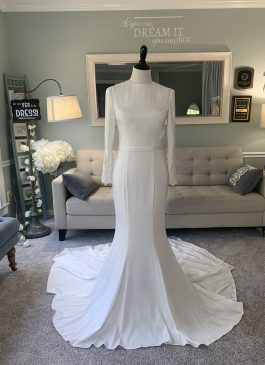 Modest ALine Wedding Dress